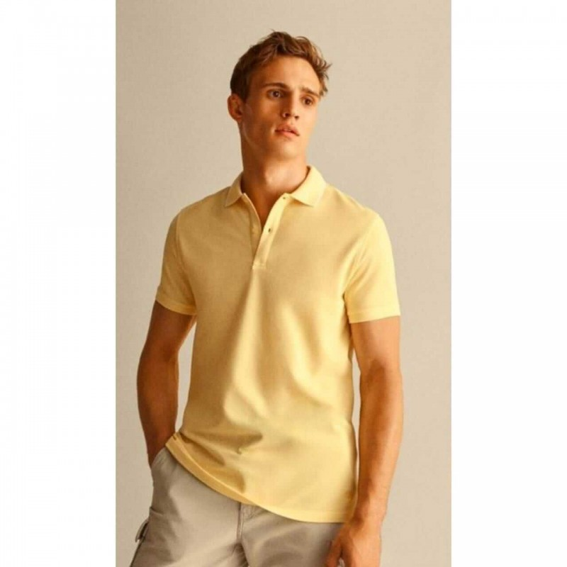 Massimo Dutti T-Shirt, EXTRAFINE PIQUE T-Shirt