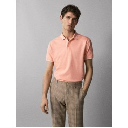 Massimo Dutti T-Shirt, Polo Slim Fit T-Shirt