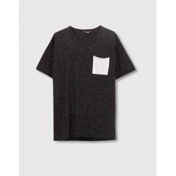 PULL&BEAR Top, with Pocket For Men's