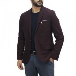SELECTED Blazer, Burgundy Color,Slim Fit Men's Blazer