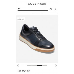 COLE HAAN Sneaker, Grand Crosscourt Crafted Leather Sneaker