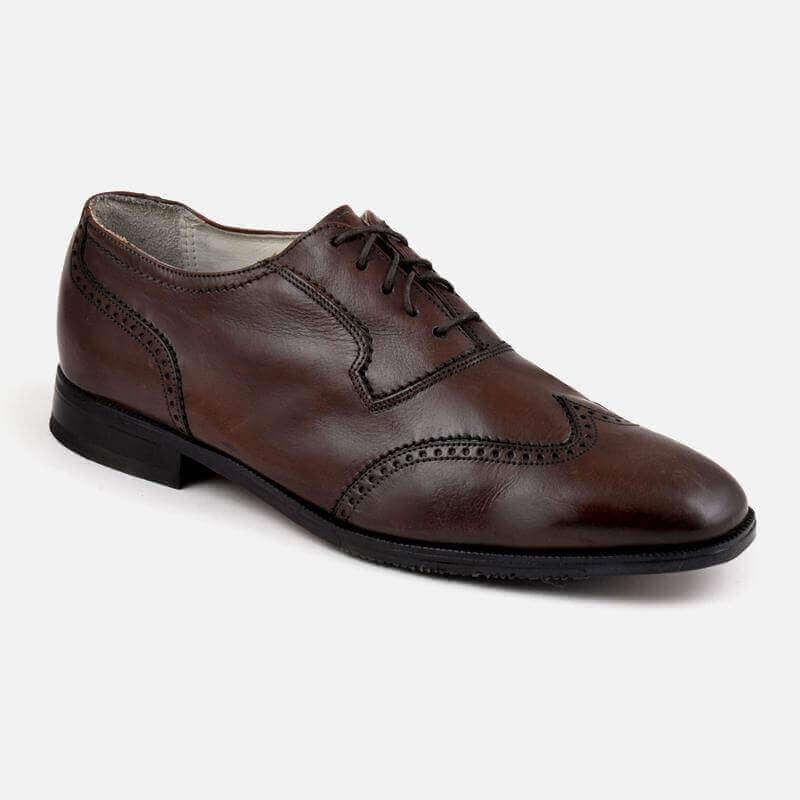FLORSHEIM Comfortech Shoes, Geniune Leather, Brown...