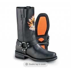 Harley-Davidson Boots, Leather, Motorcycle Rider Style