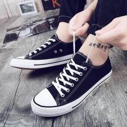 Converse Shoes, Black Low Top Sport Sneaker