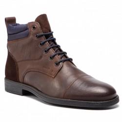 GEOX Boots, Ankle Genuine Leather U Jaylon I