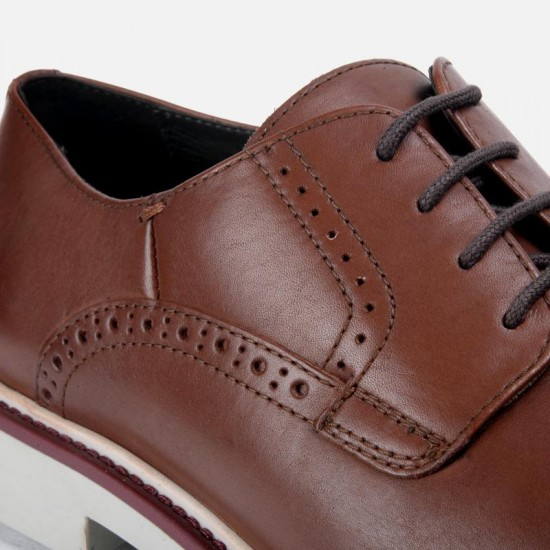 GEOX Shoes, Men's Smooth Leather Blucher