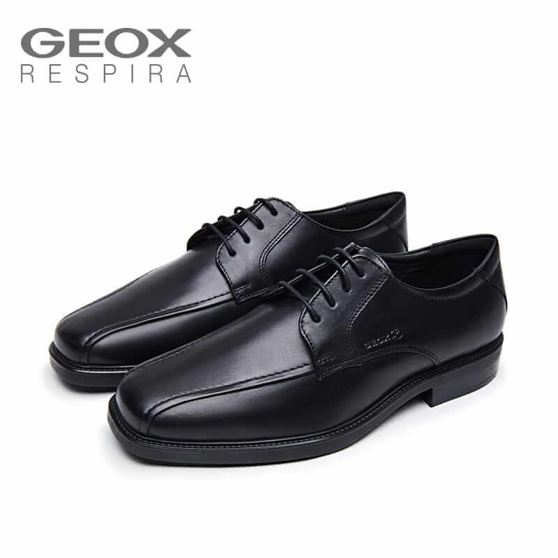 GEOX Shoes, Genuine leather, Men's Formal Shoes