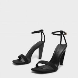 CHARLES & KEITH Sandal, Ankle Strap Heels 10cm