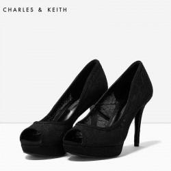 CHARLES & KEITH Heels, Black High Heels