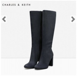 CHARLES & KEITH Boots, Knee-Length Boots and High Heels