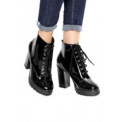 Glamorous Boots, Glossy Heeled Boots For Women's