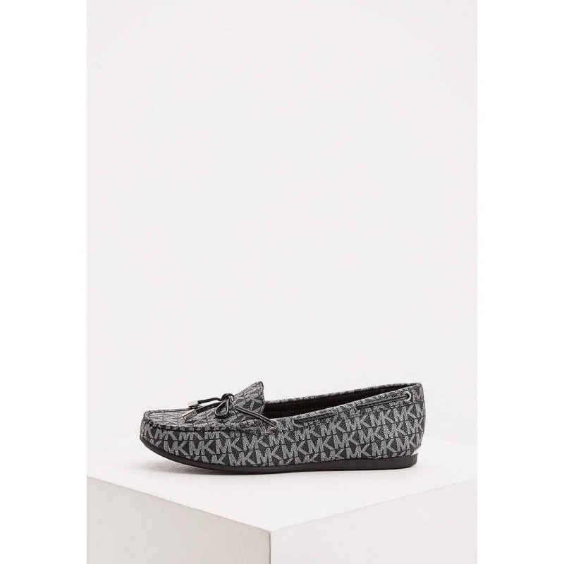 MICHAEL KORS Shoes, All-over Logo Loafers For Wome...