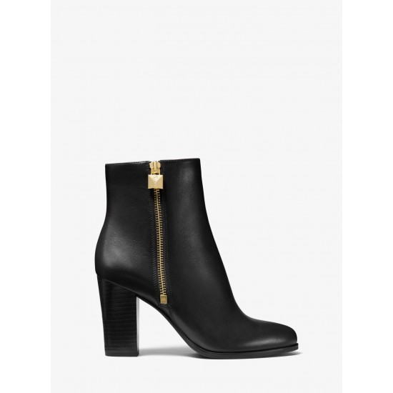 MICHAEL KORS Boot, Ankle Leather Heeled Boot For Women's