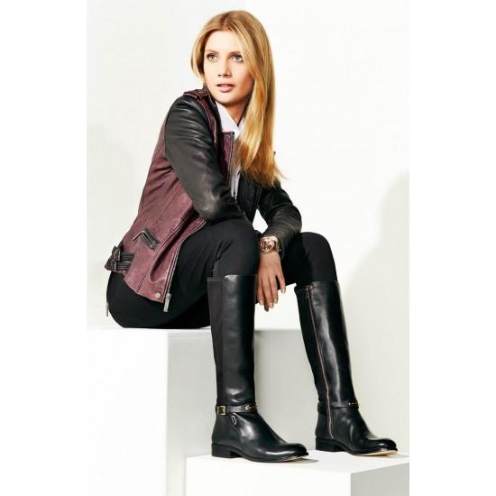 MICHAEL KORS Boot, Knee Tall Boot, Shiny logo