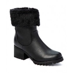 ALDO Boots\Safety, Fur Ankle Boots For Women's