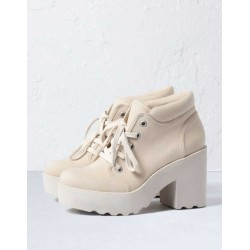Bershka Boots, Track Heeled Ankle Boots