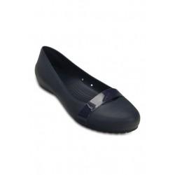 Crocs Shoes, Brynn Flat Standard Fit For Women's, Navy Blue