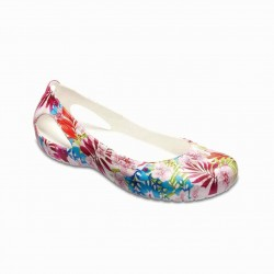 Crocs Shoes, Kadee Graphic Flats Shoes For Women's
