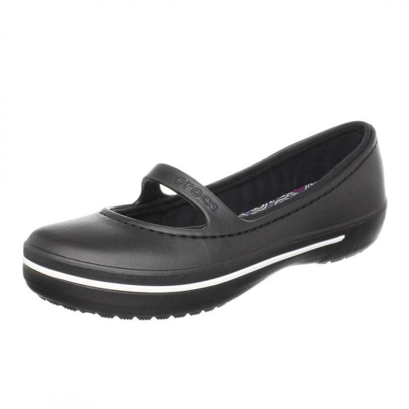 Crocs Sandals, Black Elegant Sandals For Women's\G...