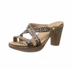 Crocs Shoes, 'Standard Fit' Cyprus Iv Leopard Heel For Women's