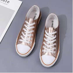 George footwear Sneakers, Round Toe Shoes, For Women's