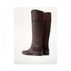 Massimo Dutti - BROWN BOOTS WITH BROGUE DECORATION 3070/121