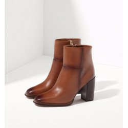 Massimo Dutti - BROWN BOOTS WITH Heels, New Design