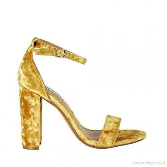 Pimkie Sandals, Yellow with High Heels