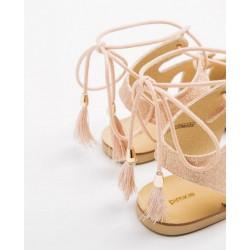 Pimkie Sandal, Pink Glitter Spartans