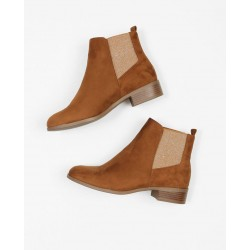 Pimkie Boots, Ankle Suede Chelsea Boots