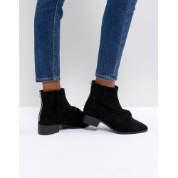 PULL&BEAR Boots, Ankle Boot With Twist Front Detail
