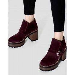 PULL&BEAR Boot, Women Classic Boot