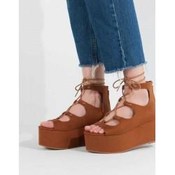 PULL&BEAR Sandals, Wide Heel Stylish Modern Design