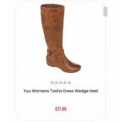 Yuu Boots, Women's Tasha Dress Wedge Heel