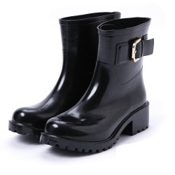 ZARA Boots, Women's Leather Rain Boots
