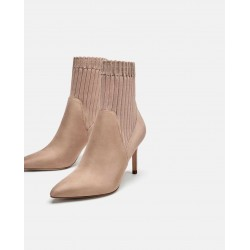 ZARA Boots, High Heel Sock Style Ankle boots