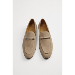 ZARA Shoes, Soft Moccasin with An Embroidery Piece