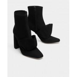 ZARA Boots, Chamois Leather
