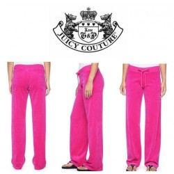 JUICY-COUTURE Pants, Wide Fit with Elasticated Waist