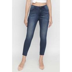 BARE DENIM, Mid Rise Ankle Length Jeans