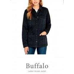 Buffalo David Bitton Shirt, Kittan Anorak Shirt with Pockets