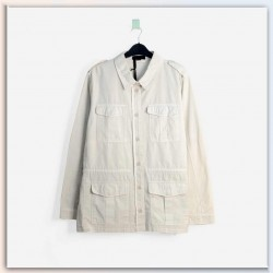 Buffalo David Bitton Shirt, Kittan Anorak Shirt with Pockets beige colour
