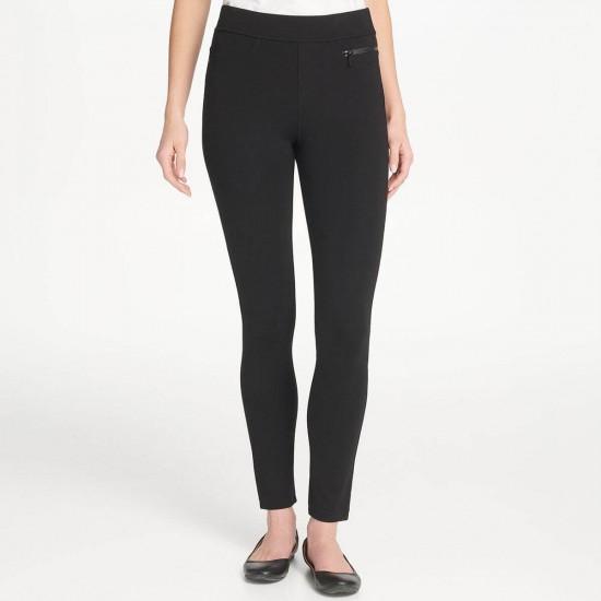 DKNY Pants, Women's Slim Leg Straight Pants