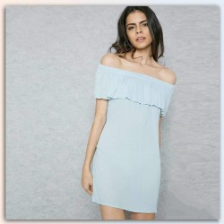 FOREVER 21Dress, Loose Off-shoulder Short Dress