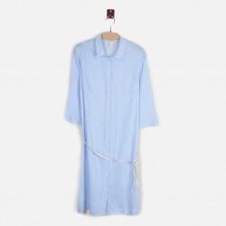 H&M Shirt dress, Striped Long Shirt For Women's