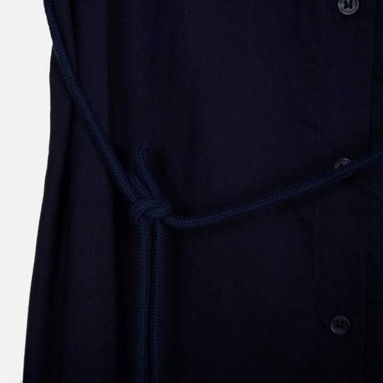 H&M Shirt, Long Navy Blue Shirt For Women's