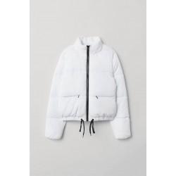 H&M Jacket, Short Padded White Jacket