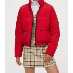 H&M Jacket, Padded Red Jacket