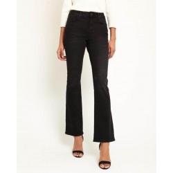 HALLHUBER Pants, Black-Bootcut Pants For Women's