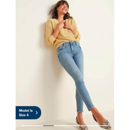KOOKAI Jeans, Mid Rise Casual Jeans For Women's